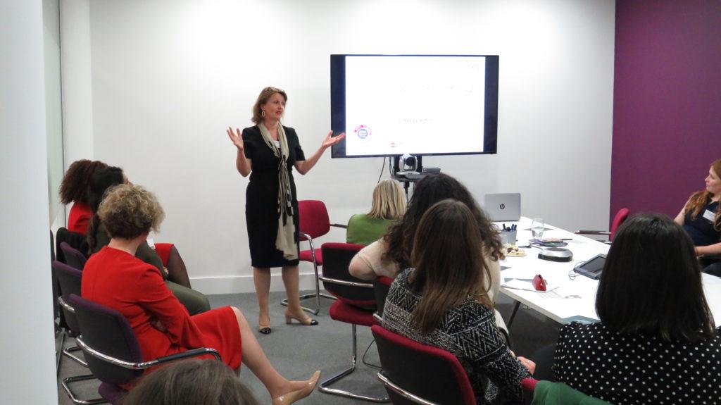 Deborah Challinor speaks at International Women's Day