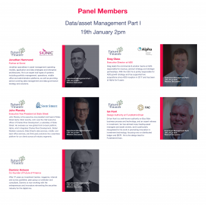 Webinar panellist list