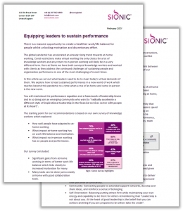 Whitepaper: Equipping leaders to sustain performance.