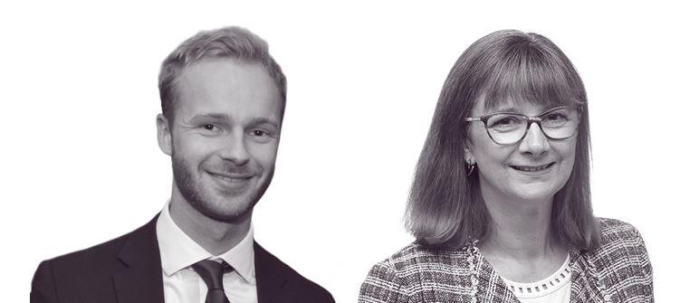 James Tasker and Clare Vincent-Silk